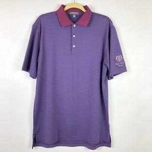 Peter Millar Summer Comfort Trump National Shirt M